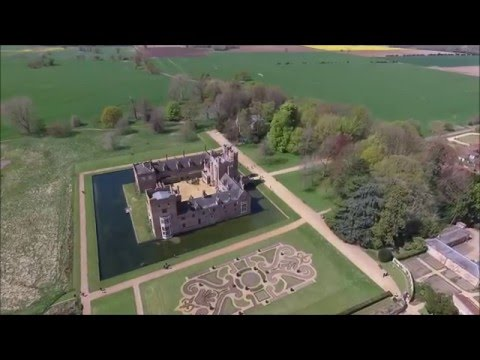 Oxborough Hall From Above