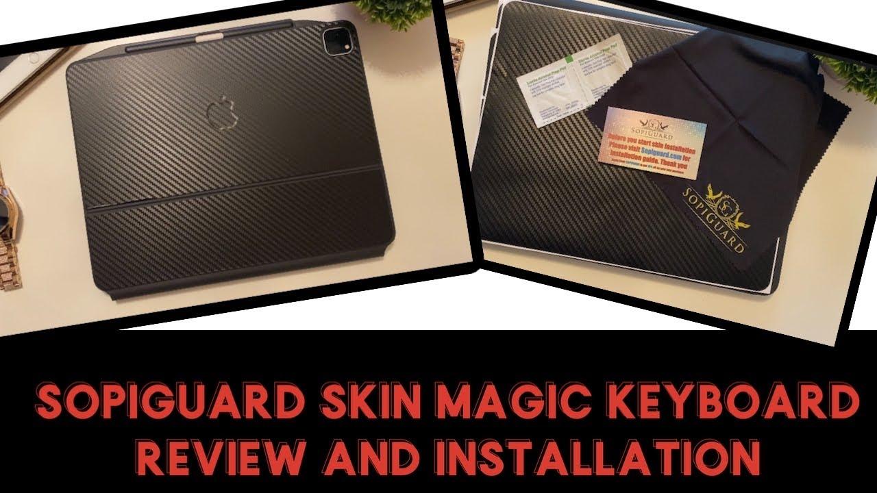 "Sopiguard Skin IPad Pro 12 9"" Magic Keyboard Review and ..."