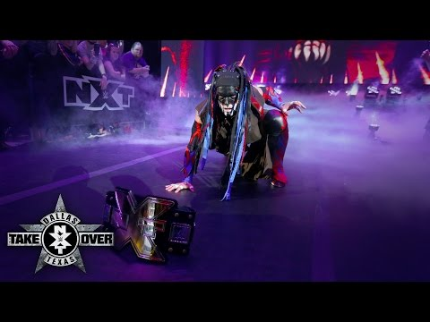 Thumbnail: The Demon carries out another extraordinary entrance: NXT TakeOver: Dallas on WWE Network