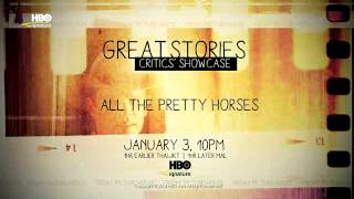 Trailer All The Pretty Horses HBO Signature