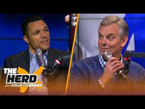 Tony Gonzalez looks ahead to Colts vs Chiefs, talks Daks future in Dallas | NFL | THE HERD
