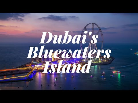Blue water island Dubai | Largest and Tallest wheel in the world | blue water dubai