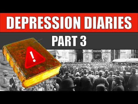 🔵 The GREAT DEPRESSION Diaries - PART 3