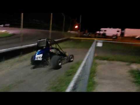 Gulf Coast Speedway 7/22/17 Sportsman Sprint Cars