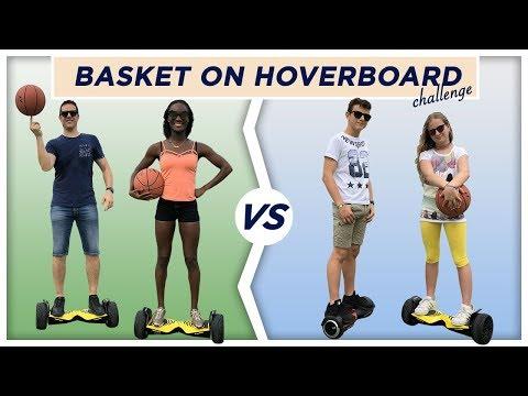 ADULTI Vs ADOLESCENTI con l'HOVERBOARD - Basket Challenge
