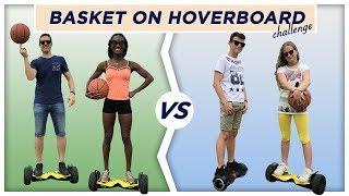 ADULTI Vs ADOLESCENTI con lHOVERBOARD - Basket Challenge