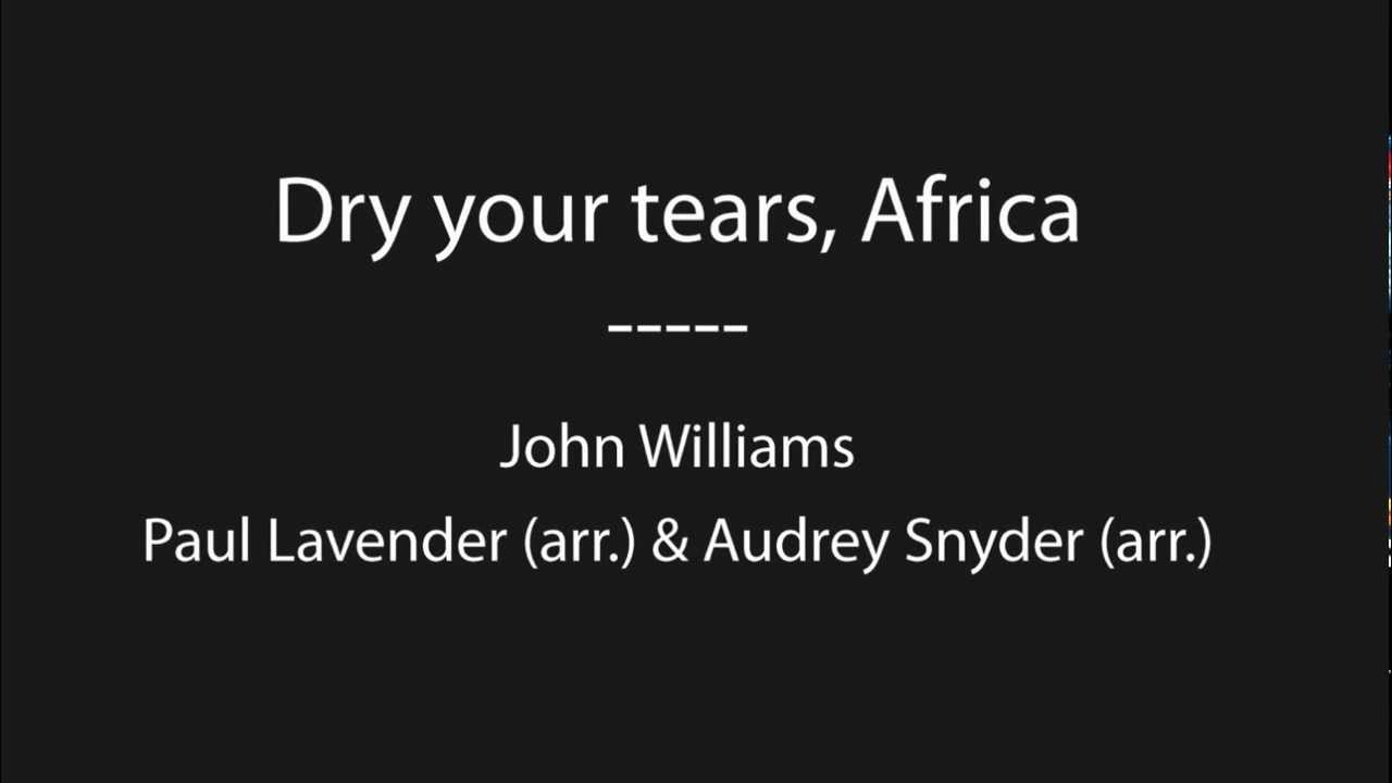 dry your tears africa Dry eye treatment serving eye patients in johannesburg, south africa patients with dry eye either do not produce enough tears or lack good quality tears to.