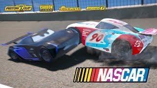 Cars 3 Paul Conrev Nascar Racing - Lightning Mcqueen Jackson Storm Cruz Ramirez
