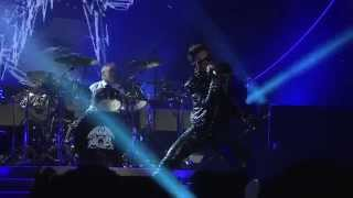 Queen + Adam Lambert - Stone Cold Crazy (Official video, live from Winnipeg, 21th June, 2014)
