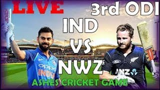 Live: IND Vs NZ 3rd ODI   Live Scores, radio Commentary   India vs Newzealand 3rd One day live