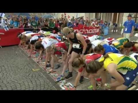 WOC 2014, Sprint relay 07.07.2014, Orienteering, Italy, Venice, Swedish language