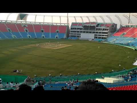 Watching live cricket match India green vs India red Lucknow