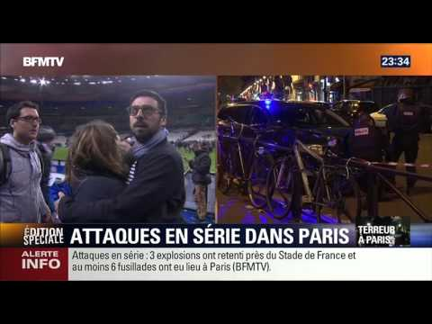 DIRECT : BFM TV (23h30) [Paris : 13/11/15]