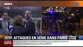 DIRECT : BFM TV (23h30) [Paris : 13/11/15]