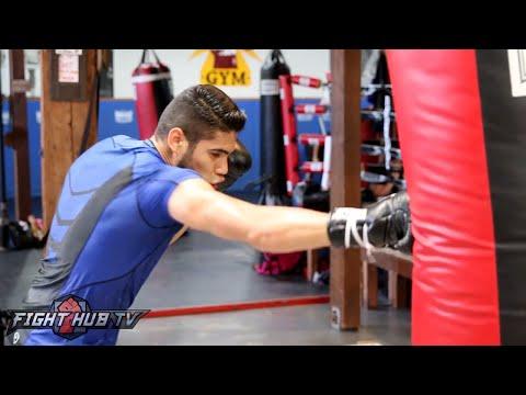 Arthur Abraham vs. Gilberto Ramirez Full Video- COMPLETE Ramirez media workout
