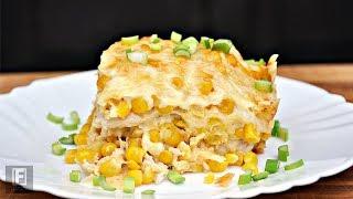 Creamy Corn Chicken Casserole Recipe