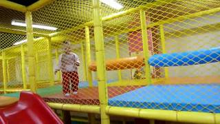Indoor playground  with Barbara Dawn part 2