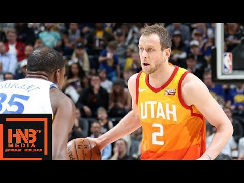 Golden State Warriors vs Utah Jazz Full Game Highlights / Jan 30 / 2017-18 NBA Season