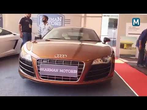 James Bond  Car ,Aston Martin DB11 : Mathrubhumi Luxury expo