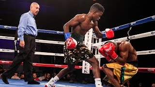Erickson Lubin With a Commanding 1st Round Victory | SHOWTIME Boxing