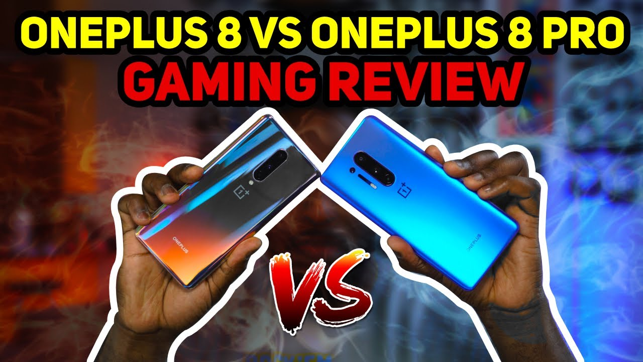 OnePlus 8 vs OnePlus 8 Pro | Gaming Review!!!