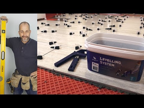 DIY Tile Floor With Peygran Tile Levelling System Review Unboxing