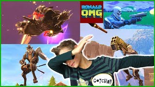 Fortnite Highlights and Roasting, INCLUDING MYSELF!!!