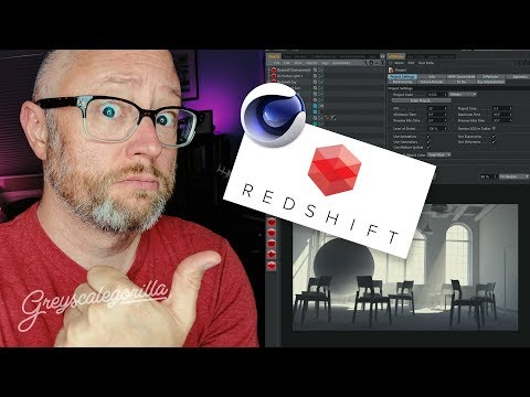 Getting to Know Redshift for Cinema 4D