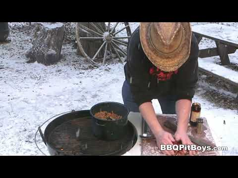Beef, Bacon and Beans recipe by the BBQ Pit Boys