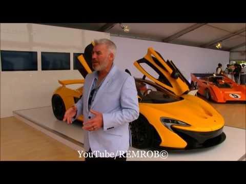 McLaren P1 Designer Frank Stephenson