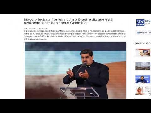 VENEZUELA:   O MUNDO À ESPERA DO DIA 23  DE FEVEREIRO.