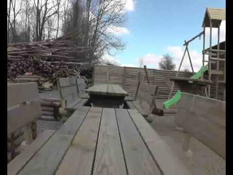 Huet Bois: Mobilier de jardin en bois, cabanon de jardin, palissade