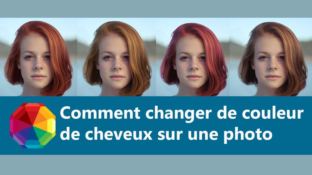 Logiciel Pour Changer De Couleur De Cheveux En 1 Minute Essai Gratuit Youtube