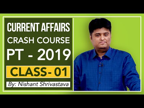 Current Affairs Crash Course For PT 2019 - (Demo Class)