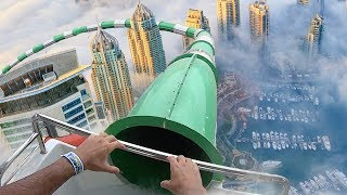 top 5 most insane custom waterslides you wont believe exist