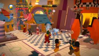 Attack on Cloud Cuckoo Land 100% collectibles guide (pants/gold pages) - The LEGO Movie Videogame