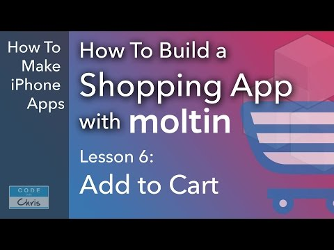 Build a Shopping App with Moltin - Ep 6 - Add to Cart