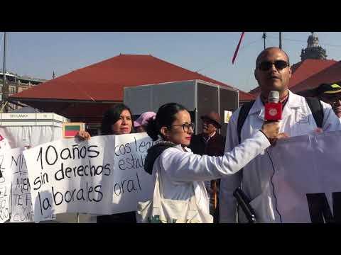 Médicos legistas exigen mejores condiciones laborales en CDMX