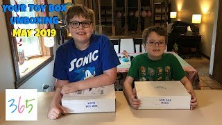 YOUR TOY BOX Subscription Box Unboxing!   May 2019   KIDS LIFE 365