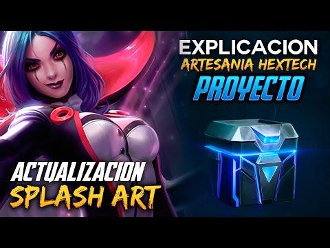 Cofres Proyecto (Explicación) - Splash Art Update | Noticias LOL