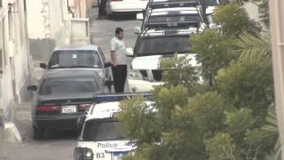 حملة تفتيش تقوم بها مرتزقة النظام بالسنابس 31/12/2013 Bahrain