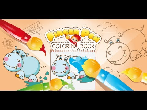Coloring Book For Kids FingerPen