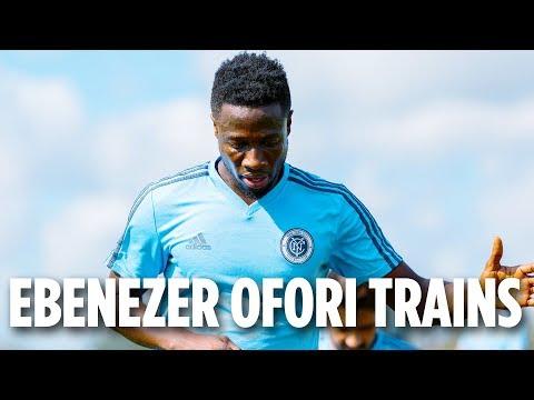 Ebenezer Ofori Trains   PRESEASON 2018