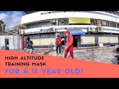HIGH ALTITUDE TRAINING MASK FOR A 12 YEAR OLD ??