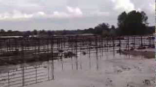 Flooding near Boulder Valley Farms in Longmont, Colorado