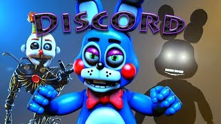[SFM] [FNaF] 'Discord' by Eurobeat Brony (Remix by The Living Tombstone)