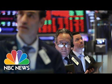 Stocks Plunge Following Trump's Response To Coronavirus Pandemic | NBC News