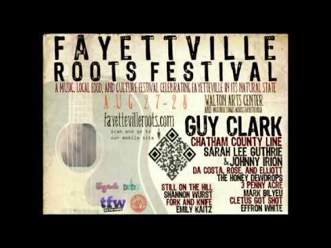 Fayetteville Roots Fest 2011 guitar strings instrumental video poster Aug 27-28 just music, take 1