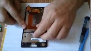 sony xperia T3 disassembly
