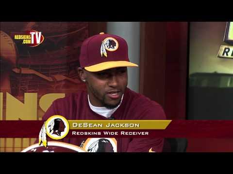WR DeSean Jackson: Special Guest on Redskins Nation